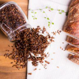 Пророщенные ферментированные зерна ржи